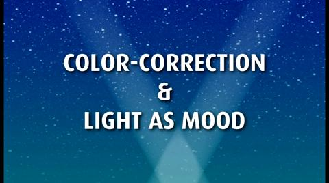 Chapter 2: Using Lighting In Creating Mood and Color