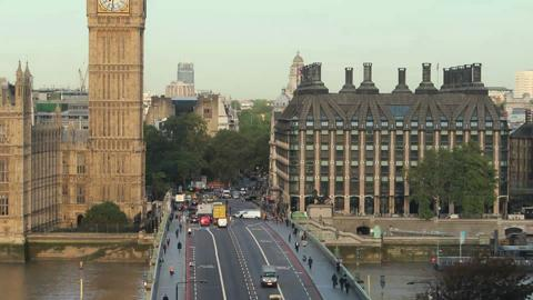 Sunrise Westminster Bridge Timelapse