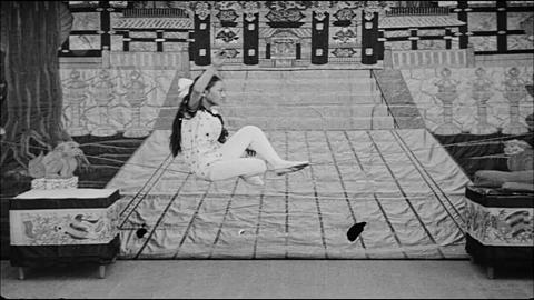 Young Girl On Tightrope
