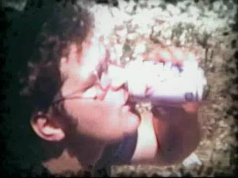 Old 8MM video with effects