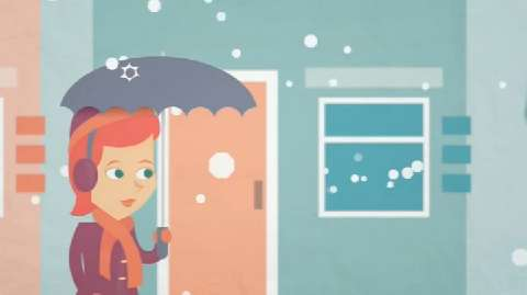 How big are hailstones and how do they form? Learn about hailstones in this fun video for kids.