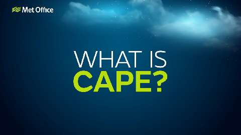 When we talk about storms with lightning, hail and possible tornadoes, we talk about CAPE, or Convective Available Potential Energy. This video explains more.