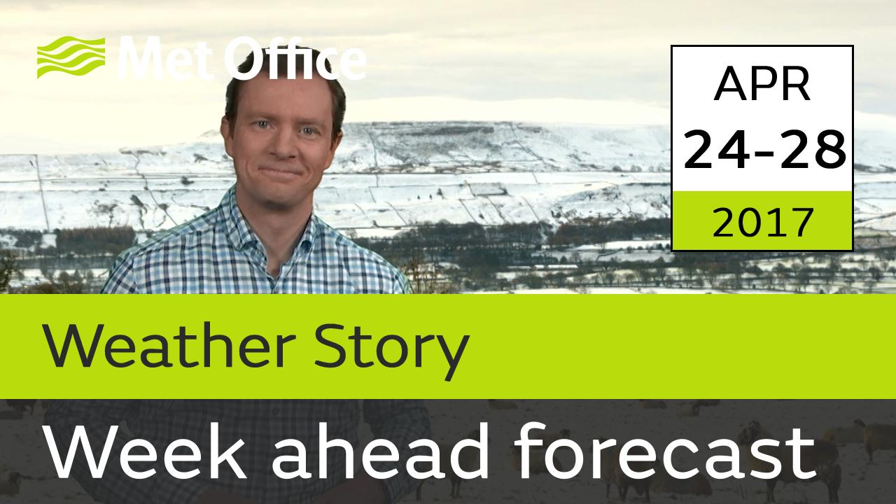 Alex Deakin takes a look at the week ahead forecast.