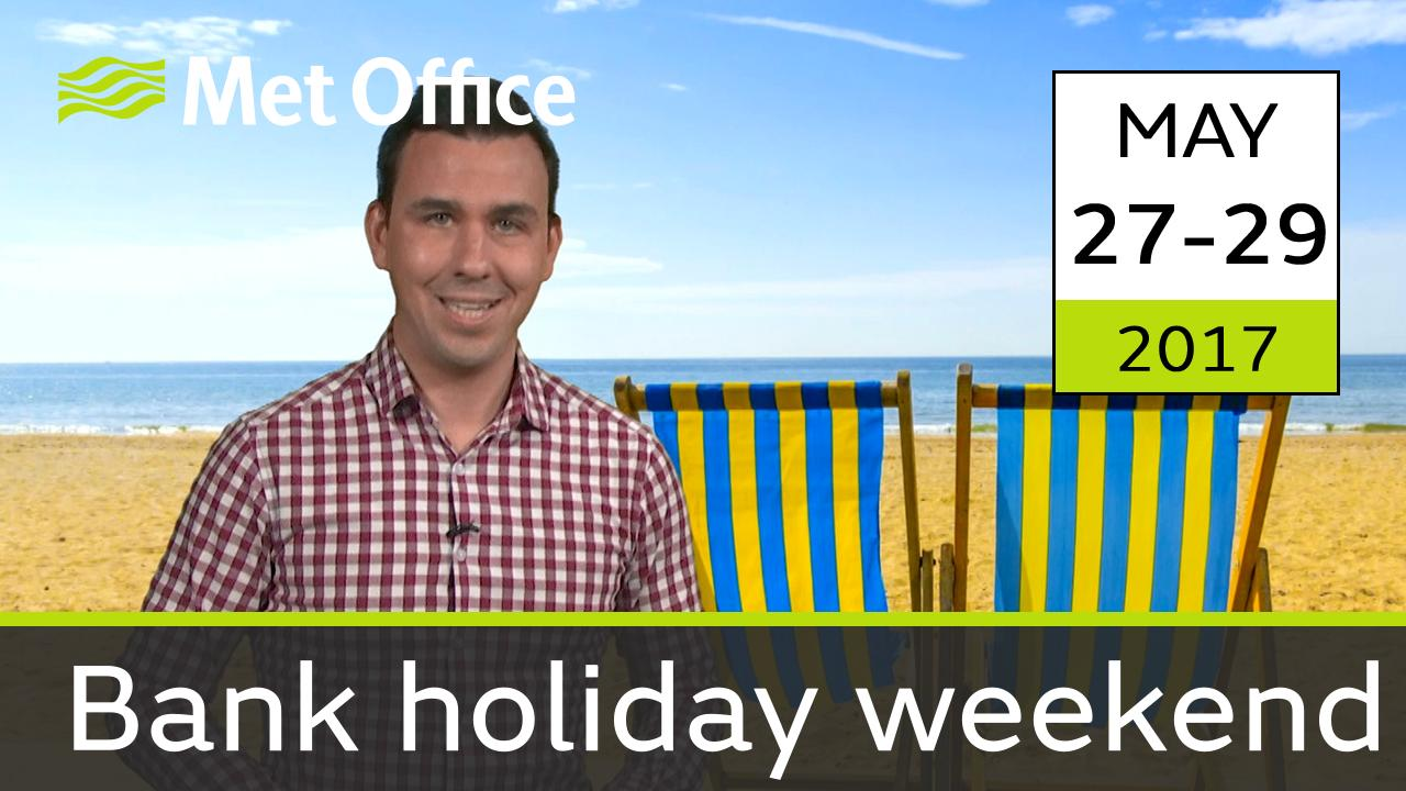 Aidan McGivern takes a look the forecast for this bank holiday weekend.