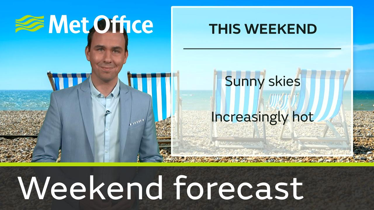 Aidan McGivern takes a look the forecast for this weekend.