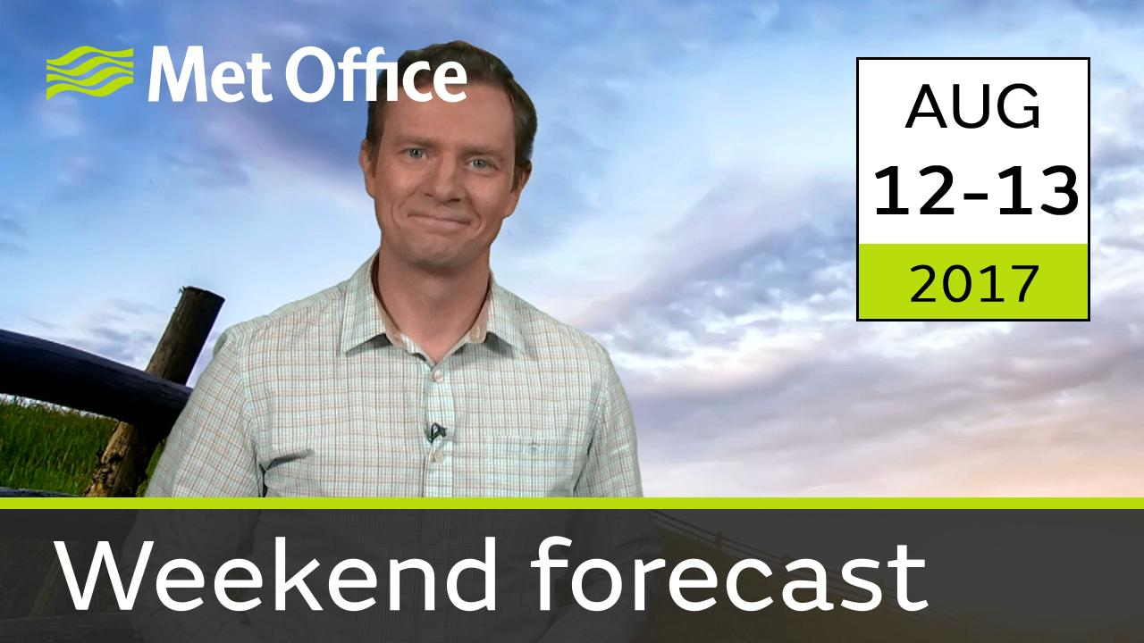 Alex Deakin takes a look the forecast for this weekend.