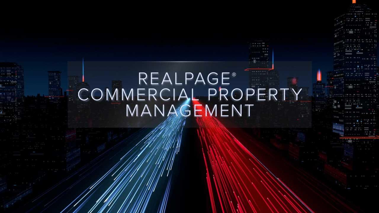 RealPage Commercial Property Management Solutions Overview