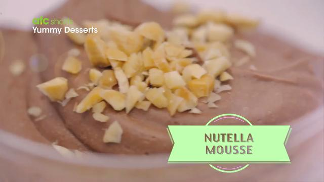 Nutella Mousse | Yummy Desserts