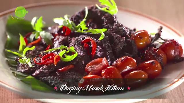Daging Masak Hitam | Family Kitchen with Sherson (S2)