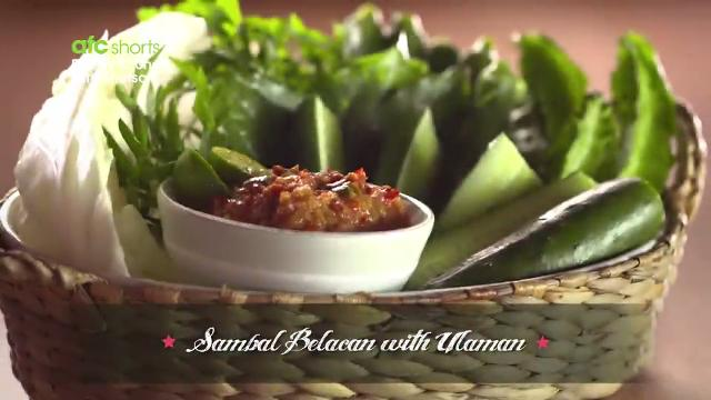 Sambal Belacan with Ulaman | Family Kitchen with Sherson (S2)
