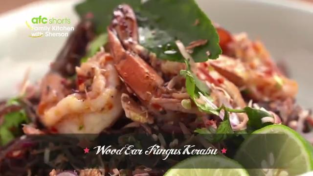 Wood Ear Fungus Kerabu | Family Kitchen with Sherson