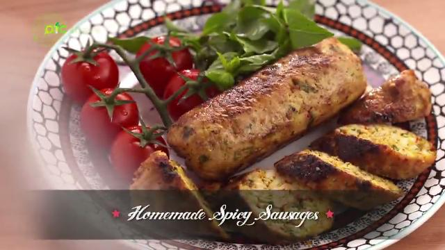 Homemade Spicy Sausages | Family Kitchen with Sherson