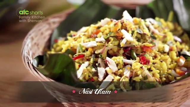 Nasi Ulam | Family Kitchen with Sherson (S2)