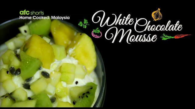 Ep 15: White Chocolate Mousse | Home Cooked: Malaysia