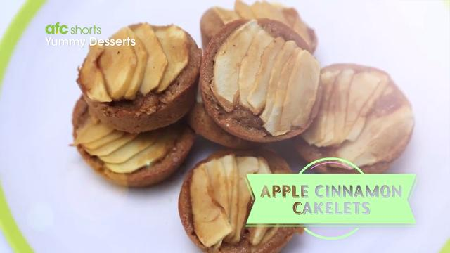 Apple Cinnamon Cakelets | Yummy Desserts