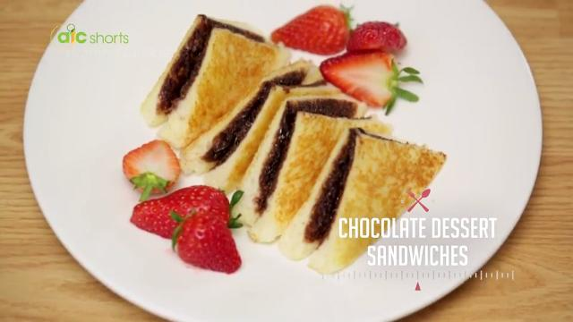 Chocolate Dessert Sandwiches | Kitchen Quickies