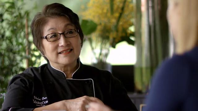 Inspired with Anna Olson - Singapore: Chef Violet Oon