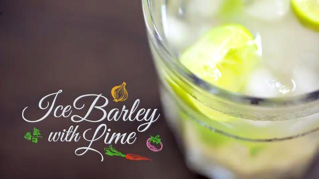 Iced Barley with Lime | Home Cooked: Malaysia