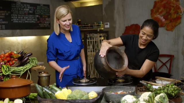 Inspired with Anna Olson - Philippines: Margarita Fores