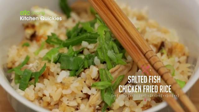 Salted Fish Chicken Fried Rice | Kitchen Quickies