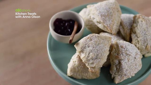 White Chocolate Black Pepper Scones | Kitchen Treats with Anna Olson