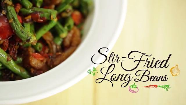 Stir-Fried Long Beans | Home Cooked: Malaysia
