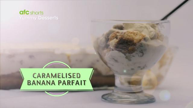 Caramelized Banana Parfait | Yummy Desserts