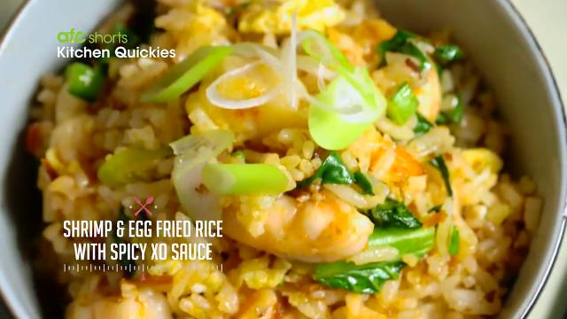 Shrimp and Egg Fried Rice with XO Sauce | Kitchen Quickies