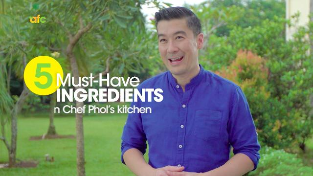 5 Must-Have Ingredients | At Home with Phol