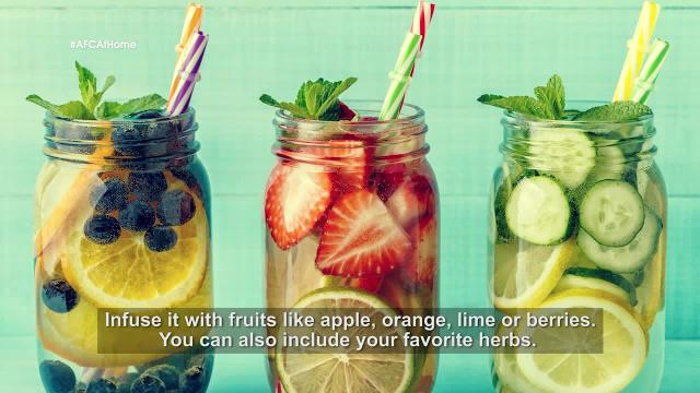 Cooking Tips: Infused Water | At Home with Phol