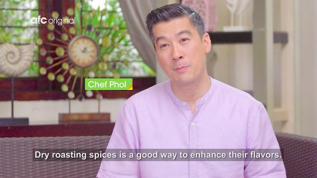 Cooking Tips: Roasting Spices | At Home with Phol