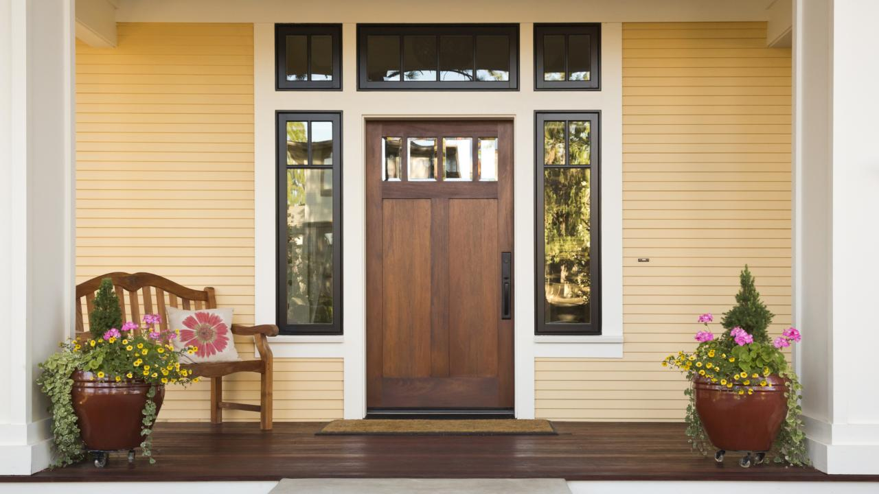 What Does A Green Front Door Mean