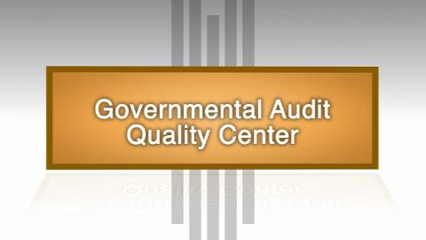 Governmental Audit Quality Center Promo
