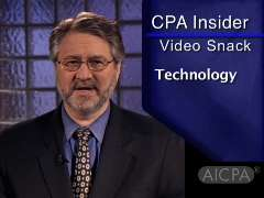 AICPA CPA Insider: Video Snack - Test Firm's Tech Know-How