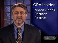 CPA Insider: Video Snack - Partner Retreat Best Practices