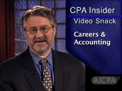 AICPA CPA Insider: Video Snack - 4 Keys to Career Success