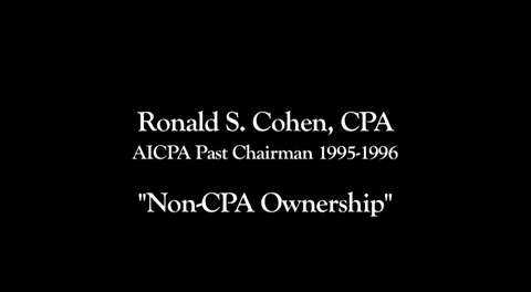 Non-CPA Ownership