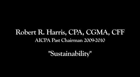 Bob Harris on Sustainability