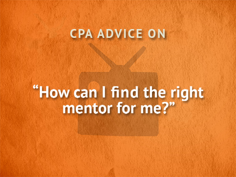 TWTCPA: How can I find the right mentor?