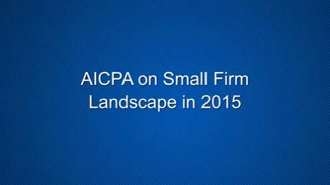 Small Firm Landscape for 2015