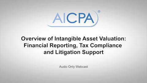 Overview of Intangible Asset Valuation - Financial ....