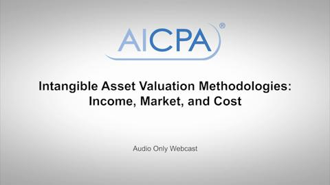Intangible Asset Valuation Methodologies - Income, Market, ....