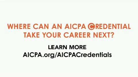 AICPA Credentials