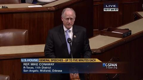 Mike Conaway Praises the AICPA on Financial Literacy