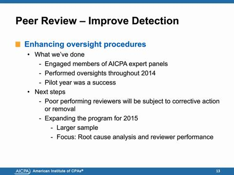 How the AICPA Plans to Enhance Audit Quality