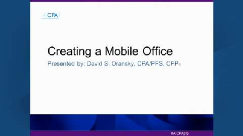 Creating a Mobile Office