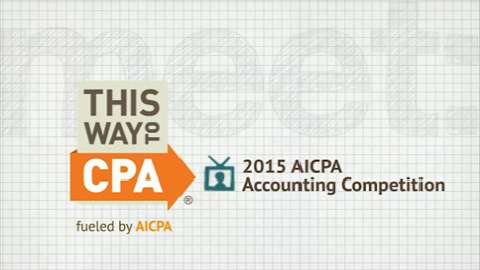 2015 AICPA Accounting Competition