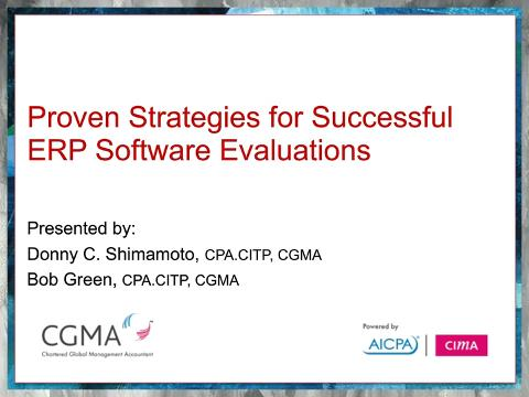 Proven Strategies for Successful ERP Software Evaluations