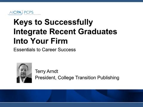 Keys to Successfully Integrate Recent Graduates Into Your ....