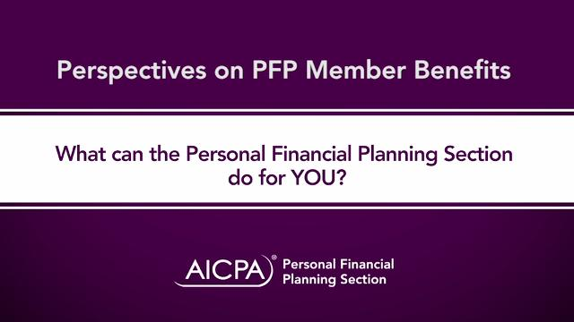 PFP Section Member Benefits